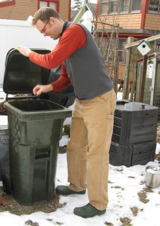 Small Trash Bin