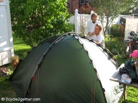 Hilleberg Staika Tent & Good Old Fashioned Tent-Off
