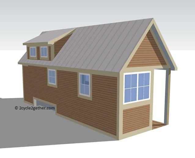 Our Tiny House in Google SketchUp
